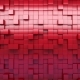 Red Extruded Cubes