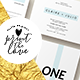 Wedding Invitation Suite - Klara