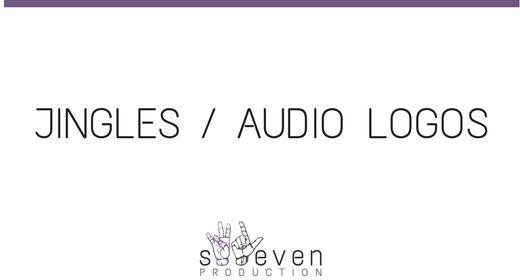 AUDIO LOGO (JINGLE)