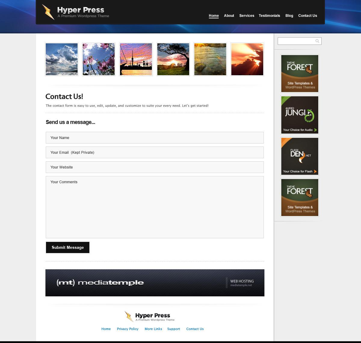 HyperPress - A Premium HTML Template
