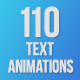 110 Text Animations