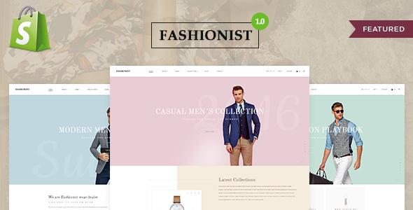 Fashionist - Shopify Theme
