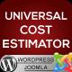 Universal Cost Estimator