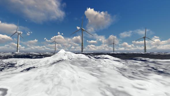 VideoHive Wind Turbines 19458836