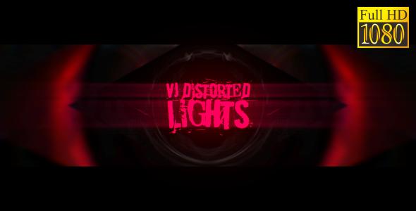 VideoHive VJ Distorted Lights Set 17 19458919