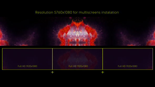 VideoHive Flame Inferno Flower Wide Screen 19459320