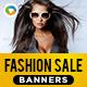 Fashion Sale Banners