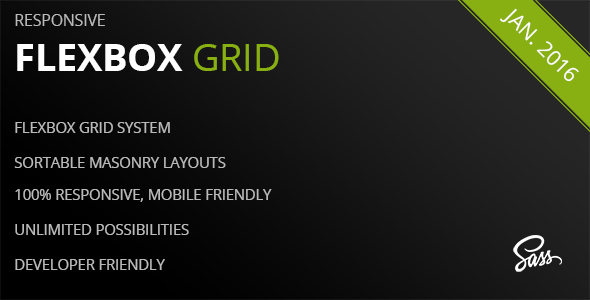 Flexbox Grid - A Responsive Masonry Grid System - CodeCanyon Item for Sale