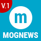Mogtemplates - Mognews Template For Blogger