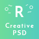 Photography Creative PSD Template