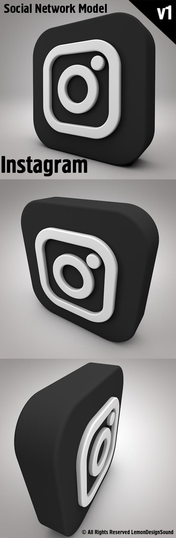 Instagram - 3DOcean Item for Sale