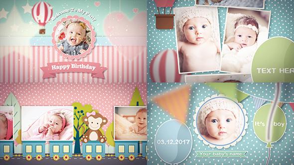 VideoHive Baby Photo Album 19461806