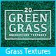 20 Green Grass Background Textures