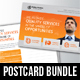 Corporate Business Postcard Bundle