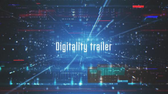 VideoHive Digitality Trailer 19462376