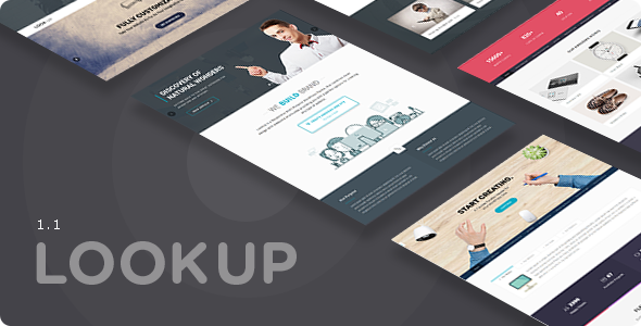 Image of LookUp - Responsive Multi-Purpose WordPress Theme
