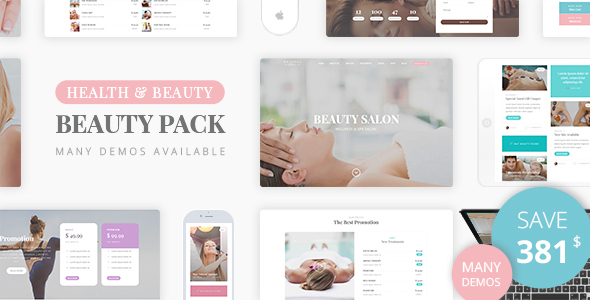 Beauty Pack - Wellness Spa & Beauty Massage Salons WP