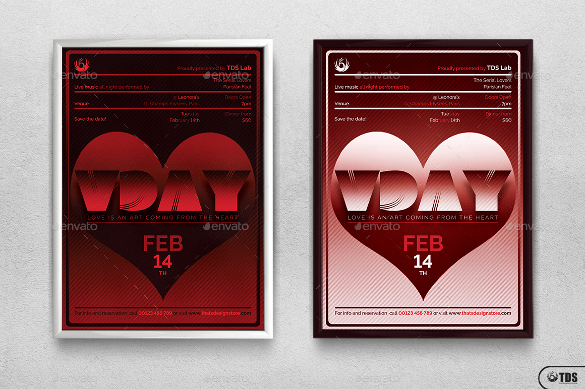valentines day flyer template v11 by lou606 graphicriver day flyer template v11 jpg