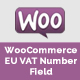 WooCoomerce Eu Vat Field