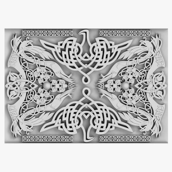 Celtic Ornament 04 - 3DOcean Item for Sale