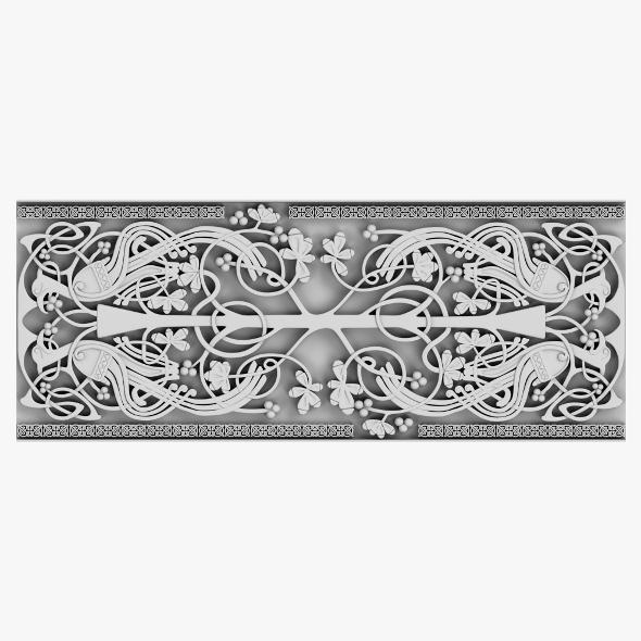 Celtic Ornament 05 - 3DOcean Item for Sale
