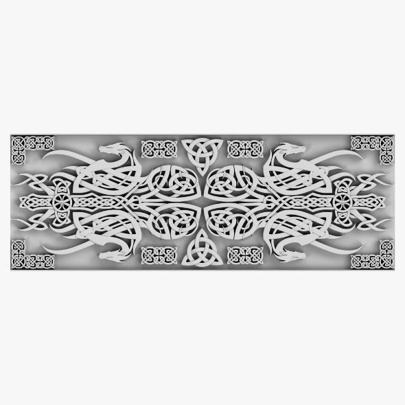Celtic Ornament 08 - 3DOcean Item for Sale