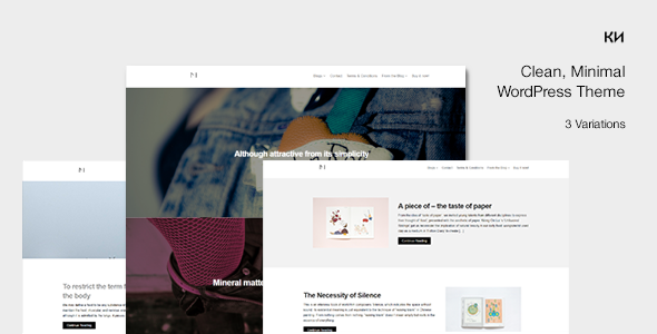 Monika - Multipurpose, Parallax Responsive HTML5/CSS3 Blog Theme