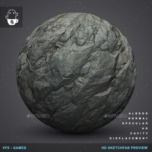 3DOcean RockyBall 01 Rock Stone Texture 19464813