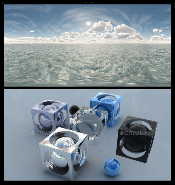 3DOcean Ocean Bright Day 11 HDRI 19464877