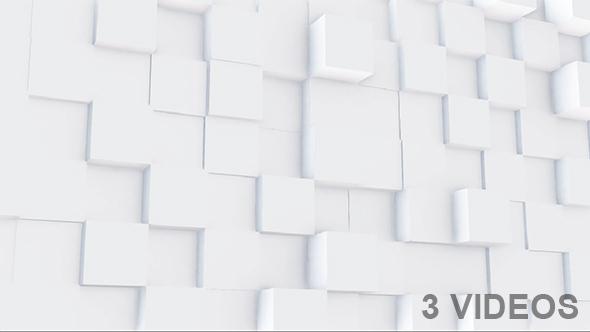 VideoHive Clean 3D Blocks Pack 19464900