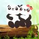 Little Panda Love Message