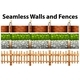 Seamless Walls and Fences in Many Designs