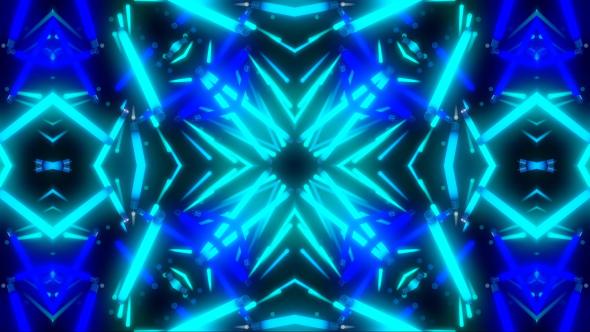 VideoHive Light Neon Flashing Kaleidoscope 19465851
