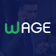 Wage - Business and Finance PSD Template