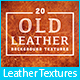 20 Old Leather Background Textures