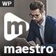 Maestro | Business WordPress Theme