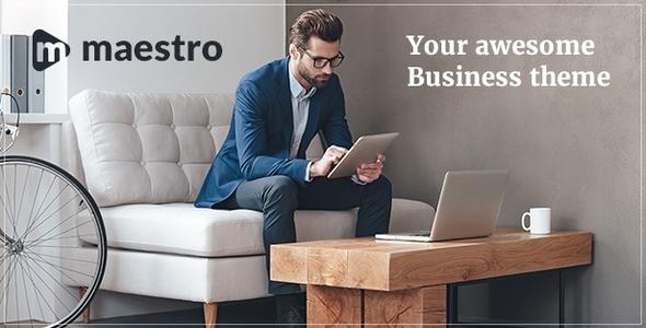 Maestro   Company WordPress Theme (Company)