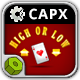 High or Low - HTML5 Construct Casino Game