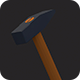 Low Poly Hammer v.2