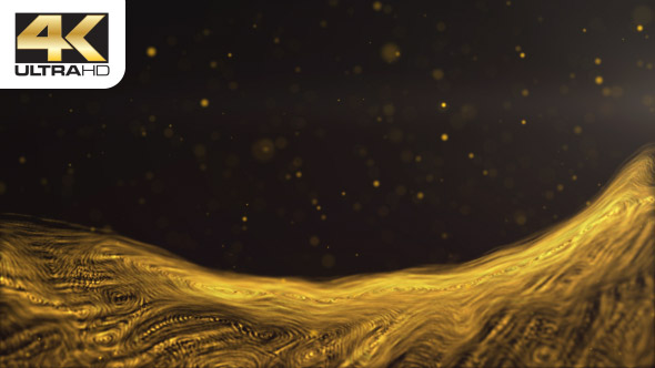 VideoHive Gold Dust Wave 19467076