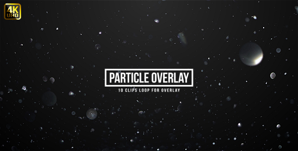 VideoHive Particle Sparkling Overlays 19467128