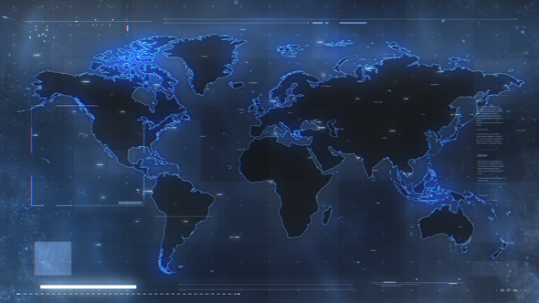 VideoHive Military World Map 19467376