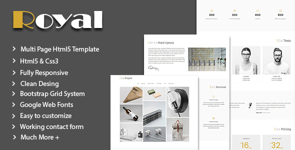 Royal - Corporate Business Template