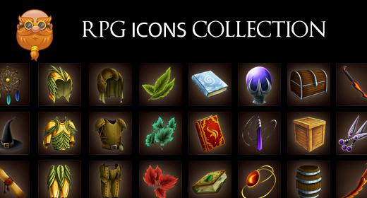 Fantasy Icons Set