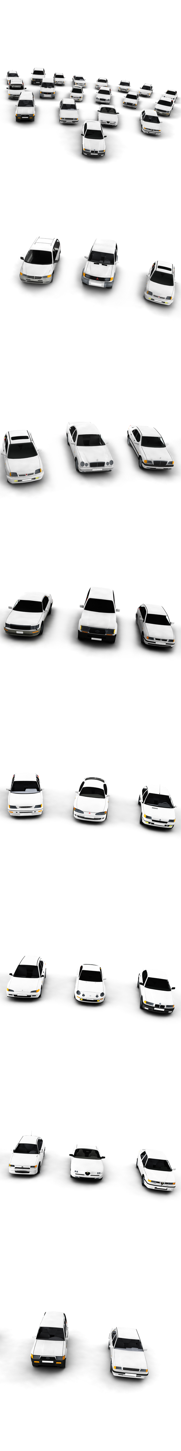 Complete Vehicle Pack - 3DOcean Item for Sale