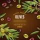 Natural Olives Background