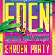 Garden Party Flyer Template-Graphicriver中文最全的素材分享平台