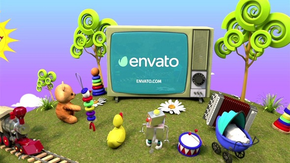 VideoHive Kids Logo 19428374