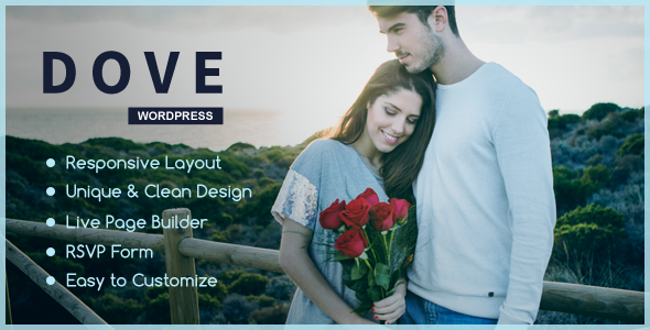 Download Dove - One Page WordPress Theme
