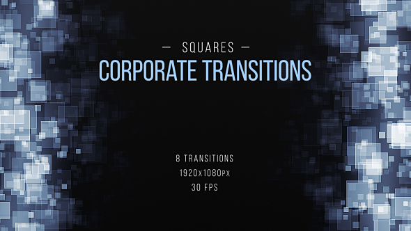VideoHive Squares Corporate Transitions 19469881